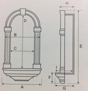 схема строения ниши