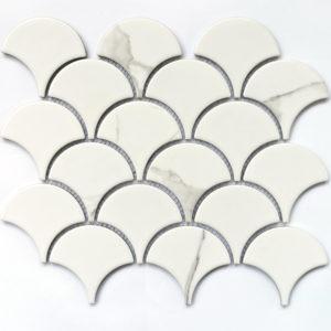 Calacatta-scale мозаика