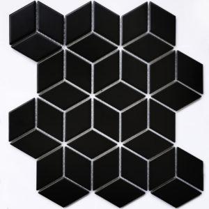 Landa Black matt мозаика