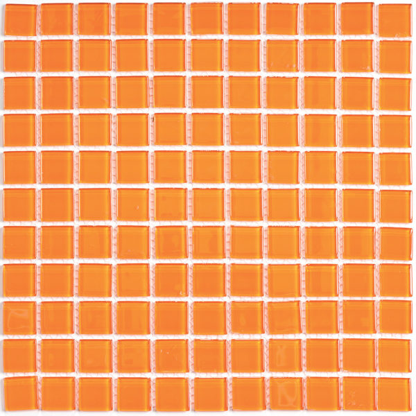 Orange glass мозаика