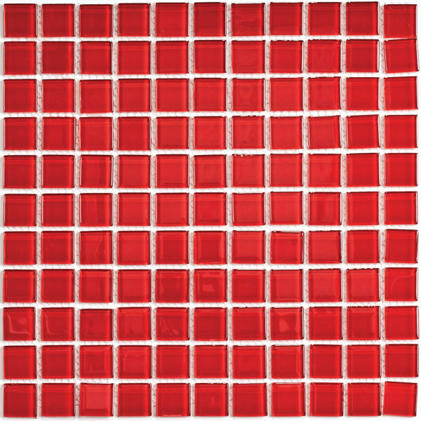 Red glass мозаика