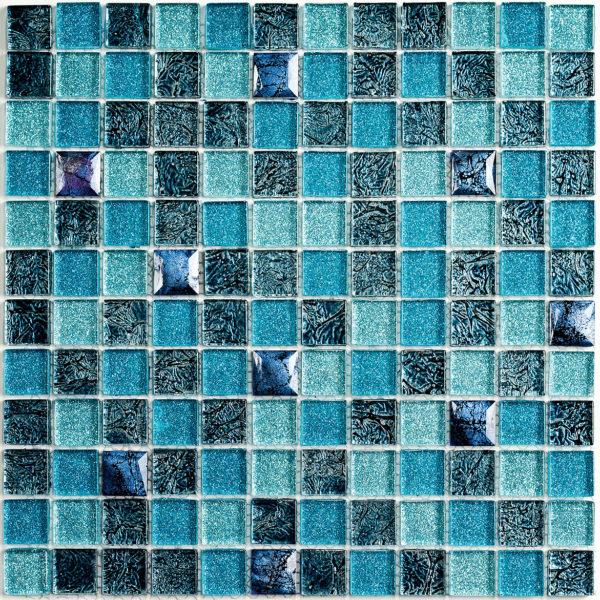 Satin Blue мозаика