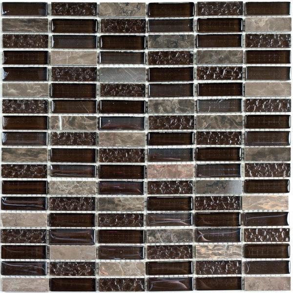Super Line (brown) мозаика