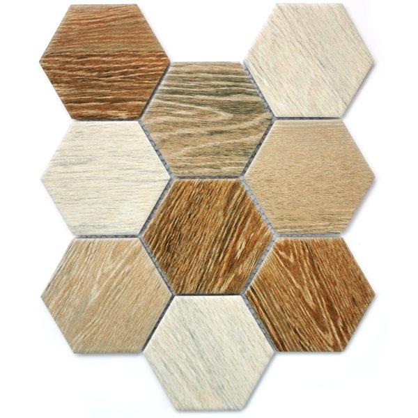 Wood comb мозаика