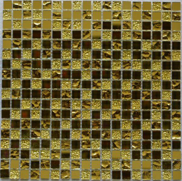 Mirror gold мозаика