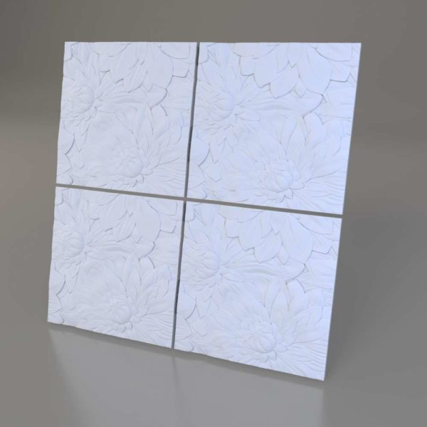 3D панели Flora