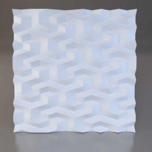 Tetragon 3D панель