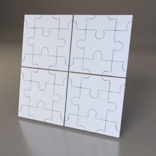 3D панели Puzzle
