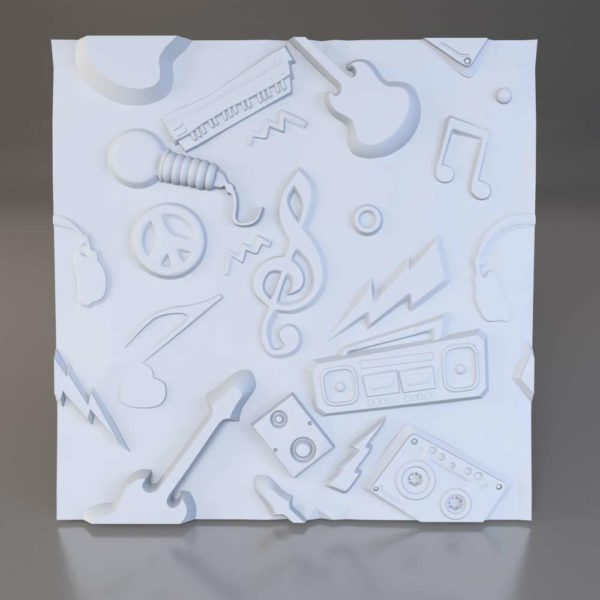3D панели Instrumental