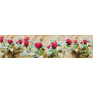 Кухонный фартук Алые розы