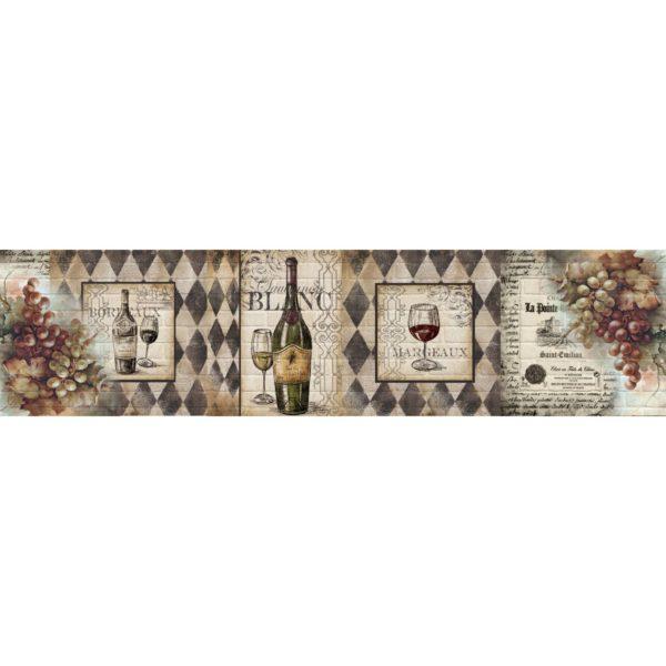 Кухонный фартук Белое вино
