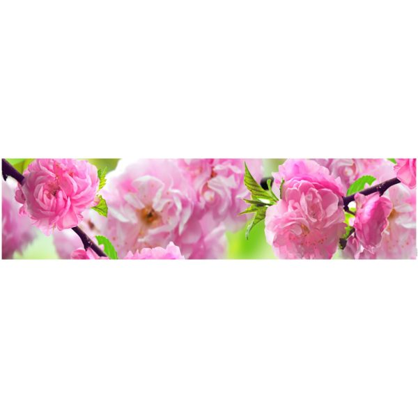 Кухонный фартук Цветущий сад 1
