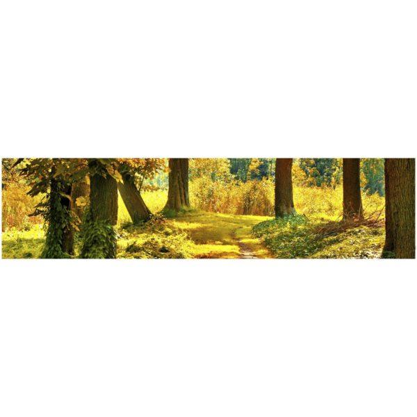 Кухонный фартук Осенний лес
