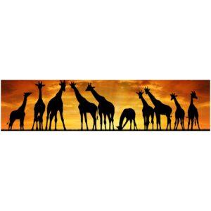 Кухонный фартук Жирафы